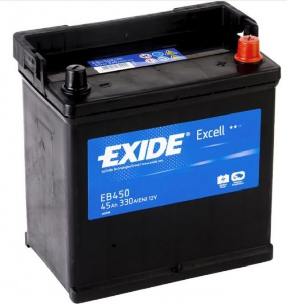 battery  Exide  Excell 45 asia euro