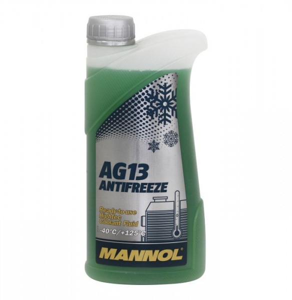 hightec antifreeze AG13 -40°C 1l green