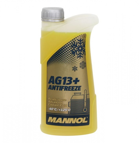 advanced antifreeze -40°C AG13+ 1l yellow
