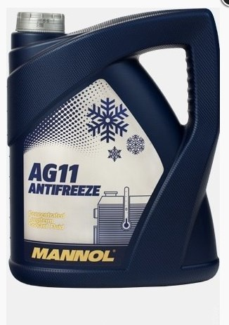 concentrate  Longterm Antifreeze AG11 5l blue