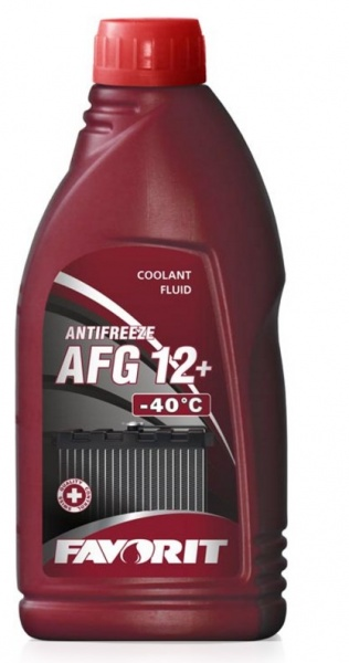 аntifreeze oncentrate red AFG 12+ 1l