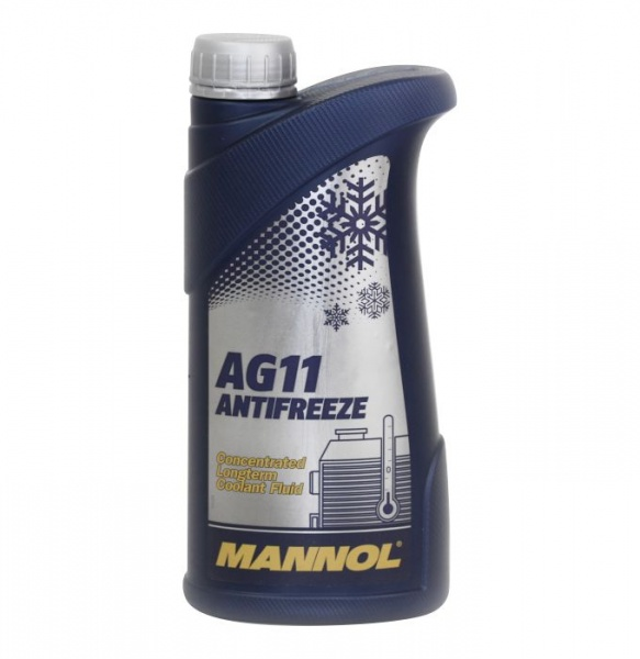 concentrate  longterm antifreeze blue AG11  1l mannol