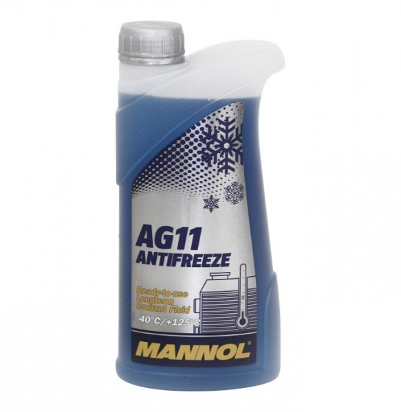 longterm antifreeze AG11 -40°C 1l blue