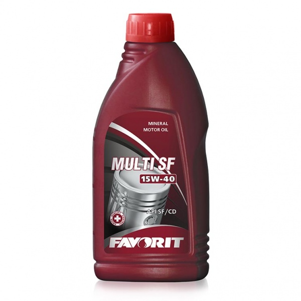 mineral motor oil favorit multi SF SAE 15w-40 API SF / CD 1l