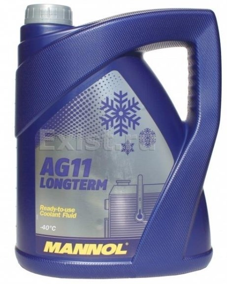 longterm antifreeze AG11 -40°C 5l blue