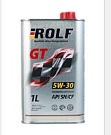 synthetic easy-flowing motor oil ROLF GT 5W-30 SN / CF 1l