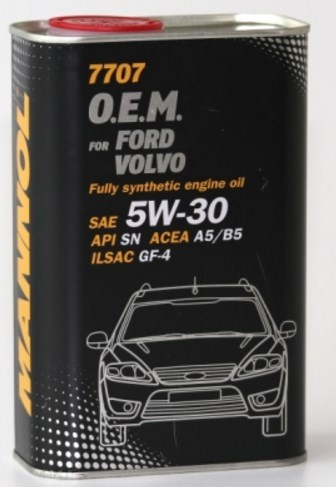 energy-saving synthetic engine oil 5W-30, ford volvo metal 1l