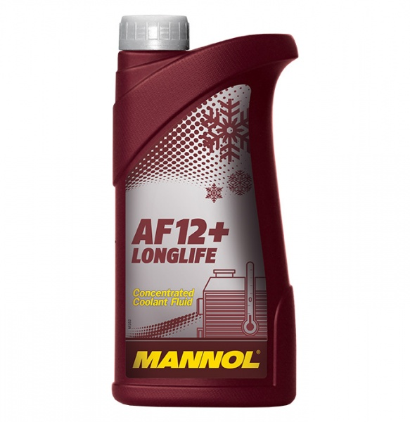 concentrate longlife antifreeze AF12+ 1l red