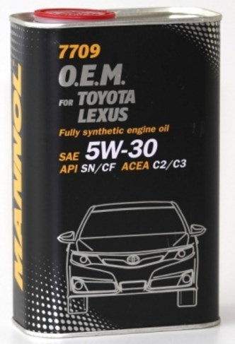 energy-saving synthetic engine oil 5W-30 1l toyota lexus