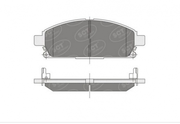 brake pad set, disc brake size