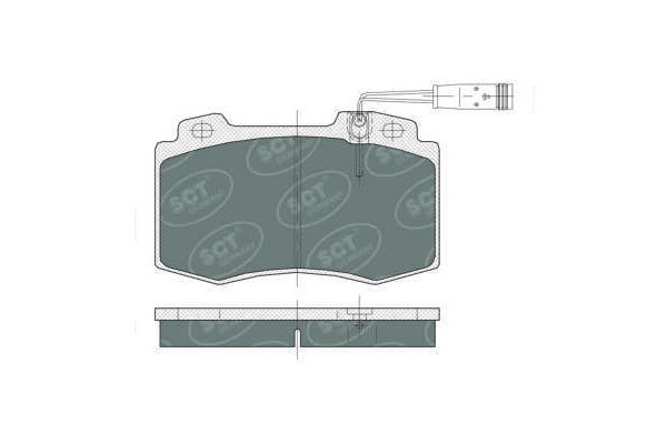 FRONT BRAKE  PAD MBZ C CL ML S220