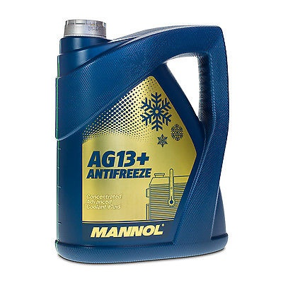 concentrate AG13+ Advanced Antifreeze 5l yellow