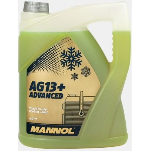 advanced antifreeze -40°C AG13+ 5l yellow