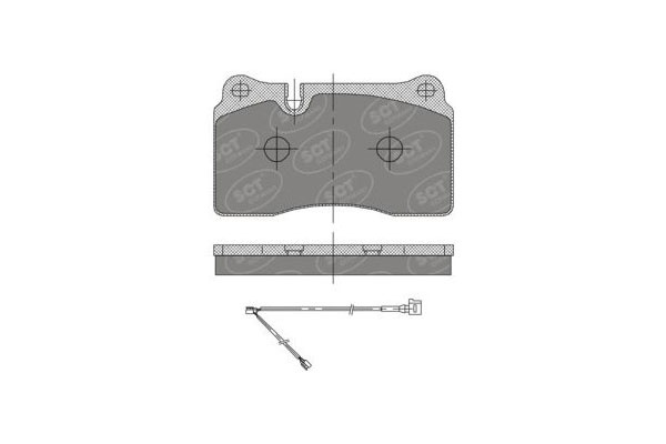 FRONT  BRAKE  PAD VW TUAREG LAND ROVER