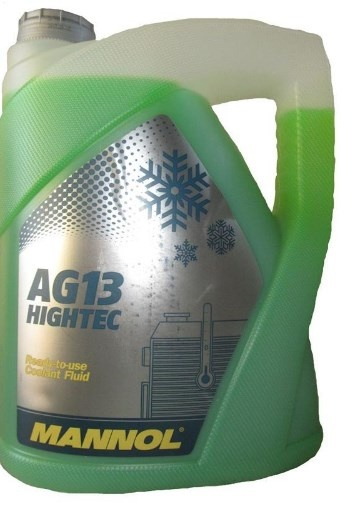 antifreeze hightec  AG13 -40°C 5l green